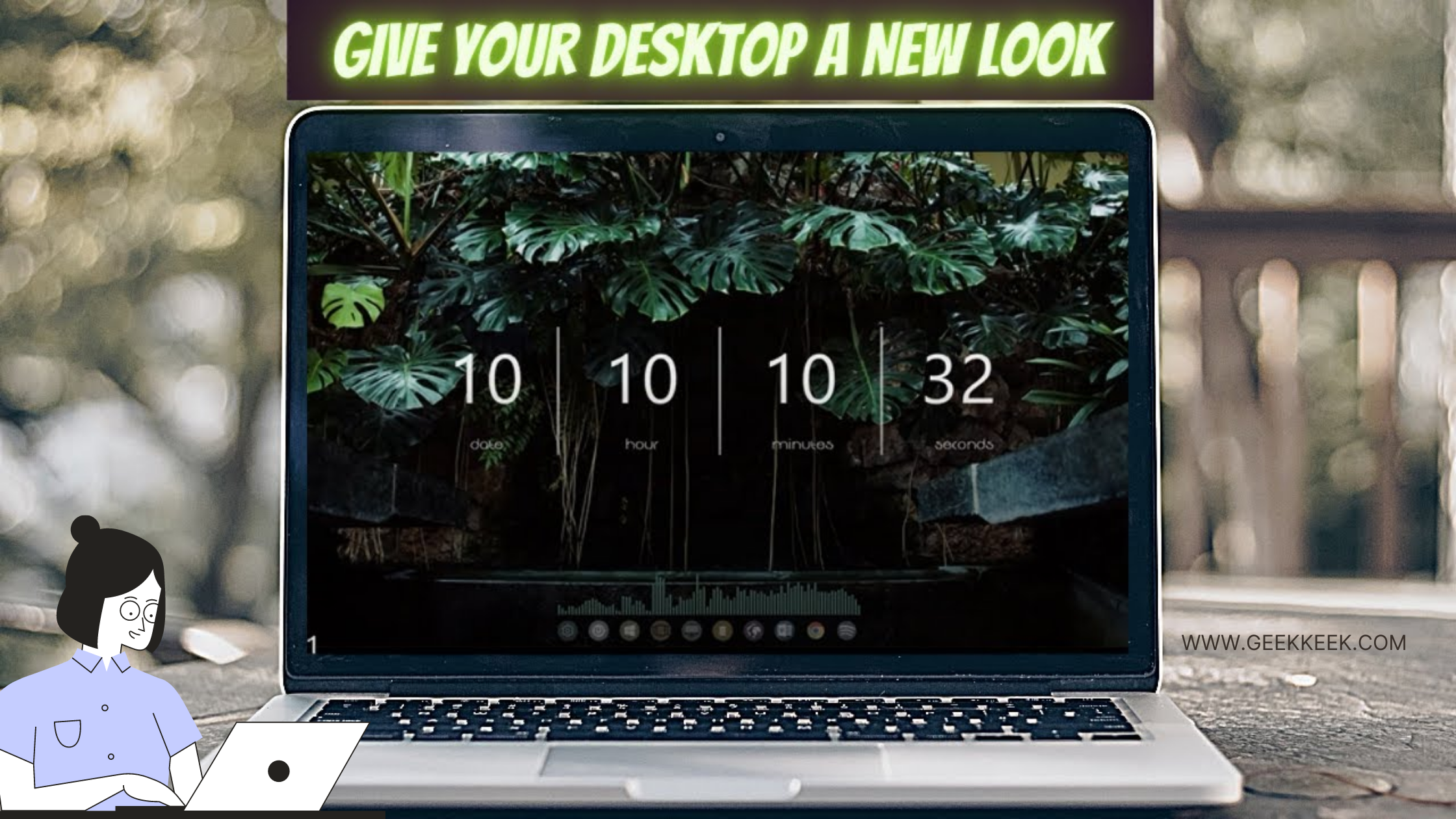 make desktop look cool